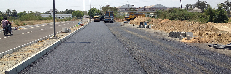 Road infrastructure in chennai